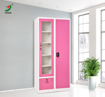 Metal Closet Organizer Hot Sale Steel Fair Price Furniture Wardrobe