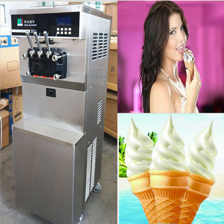 2014 KESHI products with ice cream cone machine