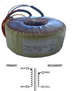 2000VA 2200VA Toroidal Power Transformer 220v 24v