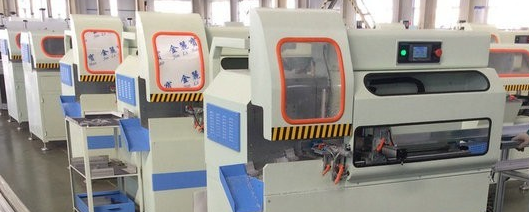 Corner key cutting machine