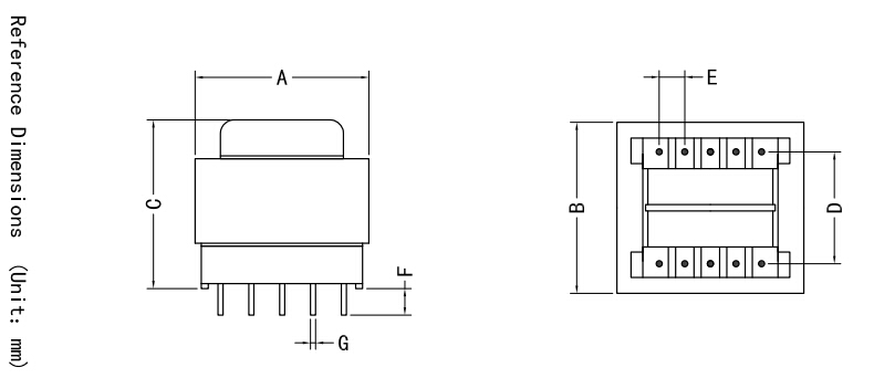 Current Transformer 380 220 For Halogen Lamp