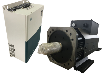 350mm E Series servo motor And NAS XM Series servo drive General Servo Motor and drive