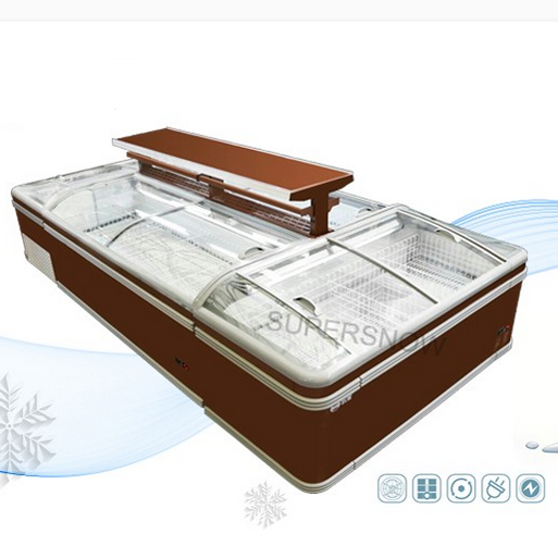 Good Insulation Low Temperature Prices Refrigerators Bottom Freezer Deap Chest With Basket