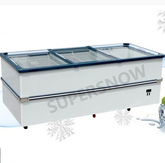 Second hand Lpg Gas Integrated American Design Portable Commercial Fridge Freezer