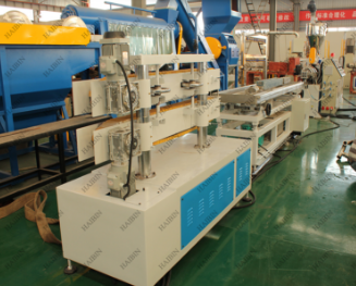 pvc doors windows fabrication machines/PVC door frame profile making machine/Plastic machine