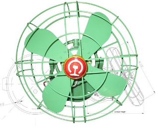Railway Passenger Coach Ceiling Fan (110V DS-310)