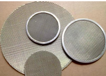 Stainless Steel Screen Filter Disc Knit Wire Filter Mesh Filtration Products