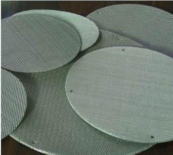 China Supplier stainless steel twill dutch weave flat filter disc for kicten