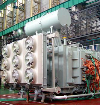 View larger image 4000kVA Transformer for Electric Arc Furnace, three-phase, OCTC