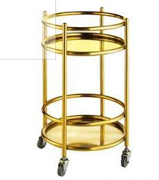 Premium Quality Stainless Steel Juice Tea Cart Liquor Trolley
