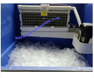 New product square cube ice machine/full automatic control system cream machinery