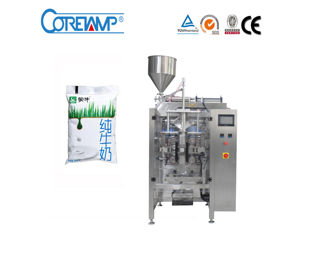 Automatic Milk Sachet Filling and Packaging Machine