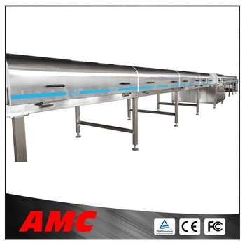 Consistency and flexibility Full Automatic Industrial/Food Cooling tunnel