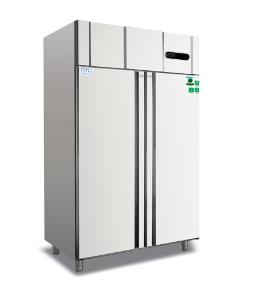 Large Capacity Upright Double door deep refrigerator freezer for sale