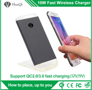 10W Stand Fast Wireless Mobile Charger Without Power Bank
