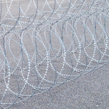 SGS durable concertina razor wire rapid deployment barrier system