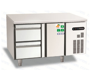 Customized stainless Steel Commercial single drawer refrigerator for sale