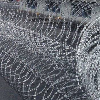 New best selling stainless steel durable mobile concertina wire