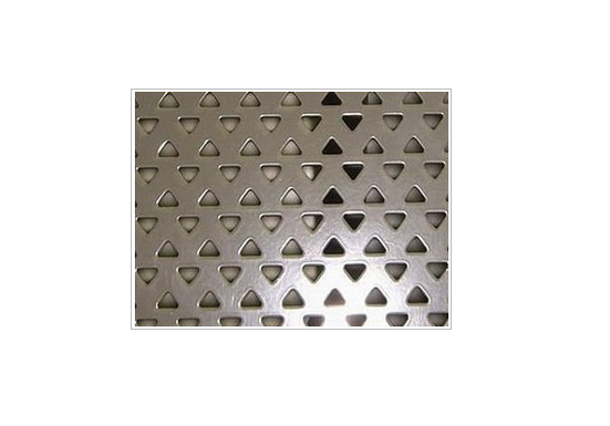 Factory direct sale galvanized perforated steel sheet