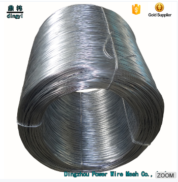 Factory provide large quantities Galvanized wire binding materials in construction