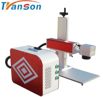 good quality 20W IPG mini Fiber cnc laser marking machine for marking pens