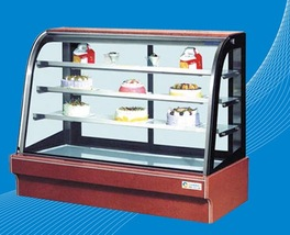Cake Showcase/Glass Cake Display Cabinet/Ice Cream Display Freezer