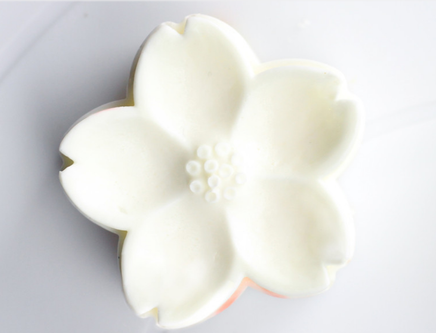 Nicole New 4 Holes Silicone Flower Shape Mold For Soap Handmade Silicone Cake Decorating Molds
