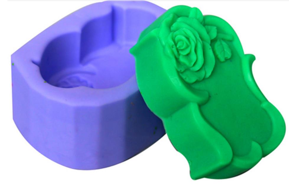 Nicole Wholesale Price Rose Shape Silicone Soap Mold,Silicone Mousse Cake Mold