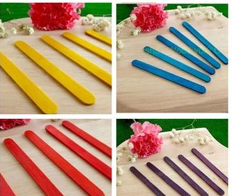 Customized Ice Cream Sticks Colorful Ice Cream Sticks ice cream spoon