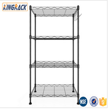 SGS light duty supermarket wire shelf store rack factry