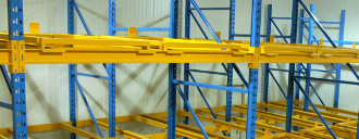cheap USA Europ industrial warehouse storage push back pallet racking system