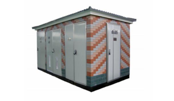 Intelligent box type integrated distribution transformer substation