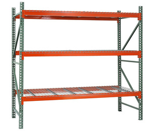 Heavy duty height warehouse storage adjustable teardrop pallet racks system