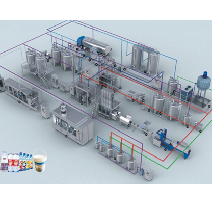 Yogurt Production Line Turnkey Project