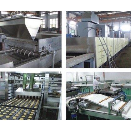 Fully-Automatic Custard/Cup Cake Production Line