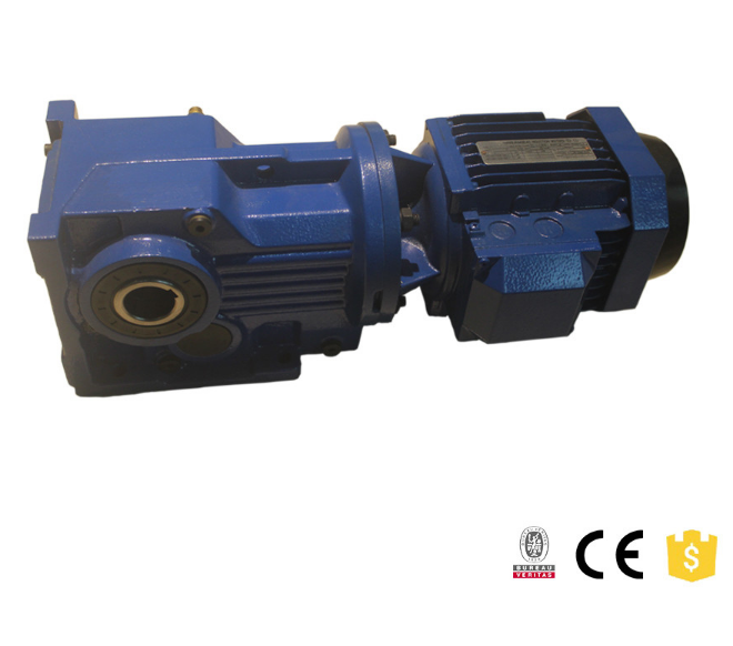 K series Helical Bevel Geared Motor with IEC adapter AM