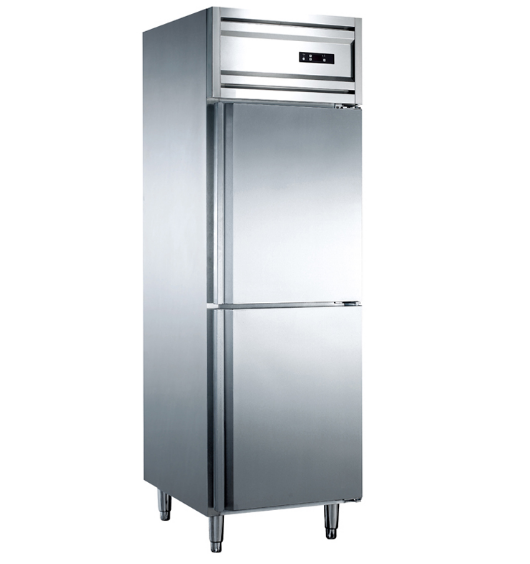 500L High Quality Double Door Upright Kitchen Freezer