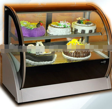 CE approved Display cake refrigerator showcase,Commercial display cake showcase