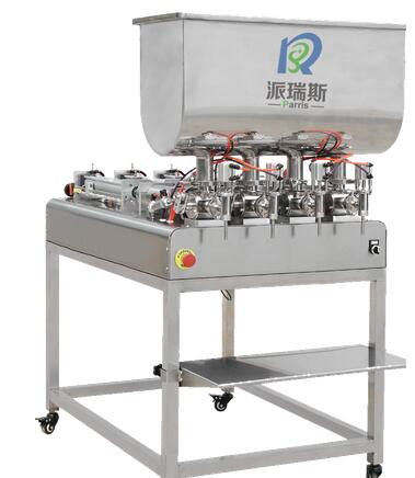 PSPF1000-4C Semi-auto 4 Heads Piston Engine Oil Filling Machine