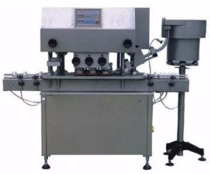 ISO9001 automatic screw capping packaging machine for food