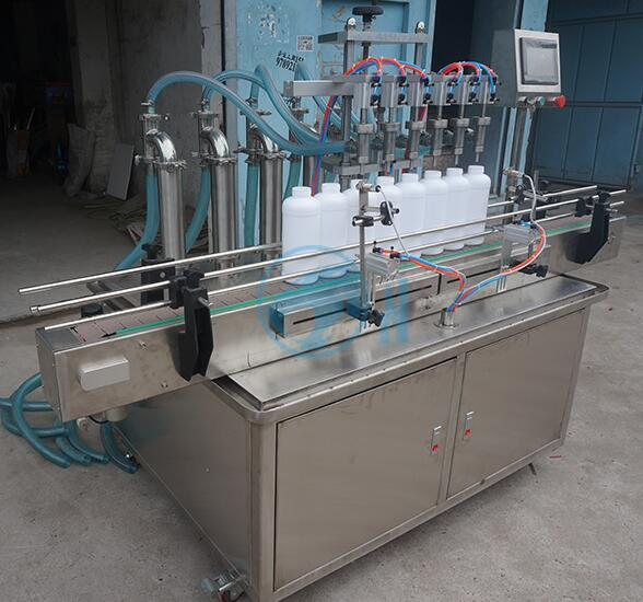 4 Heads 16 Heads Automatic Linear Bottle Liquid Filling Machine