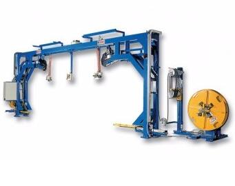 ISO / CE Certification 800KG Semi-automatic strapping machine