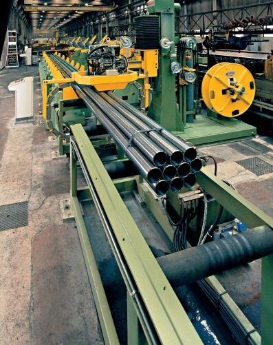 JINGLIN 1100KG Automatic strapping machine for pipes & profiles
