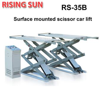 RS35B Series high quality garage used surface mounted scissor lift