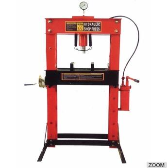 PM01904 SERIES 50 TON HYDRAULIC SHOP PRESS WITH GAUGE