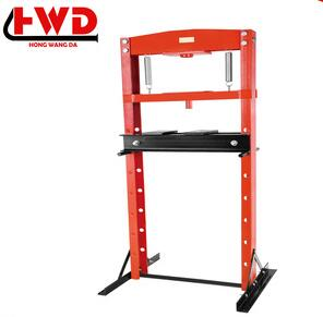 RHD-121 series hydraulic 12 ton hydralic shop press for car lifting