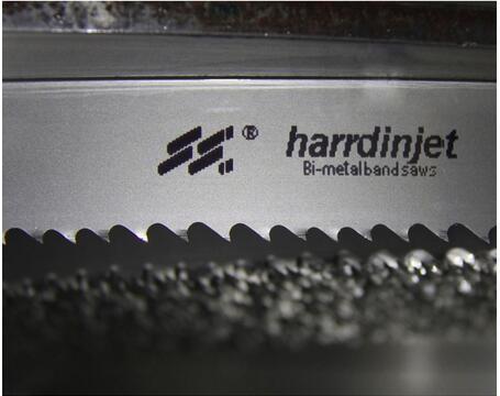 Auto feed metal cutting band saw blades