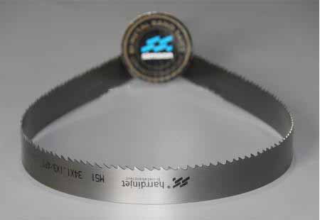 M51 band saw blade with different tooth shapes
