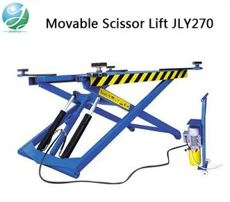 CE certificate mid rise portable on ground scissor car lift for sale
