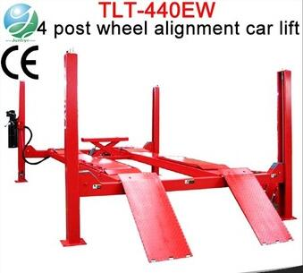 TLT440EW Series Durable launch wheel alignment 4 post lift platform